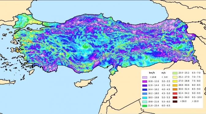 La energía eólica crece en Turquía