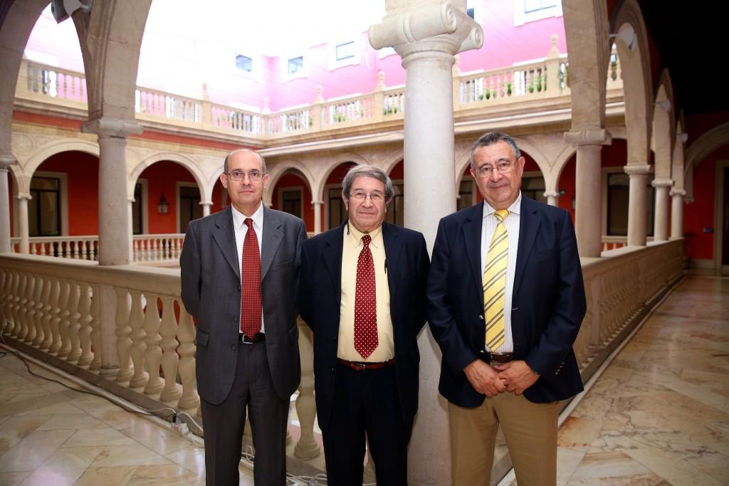Julian Blanco, Valeriano Ruiz y Luis Crespo