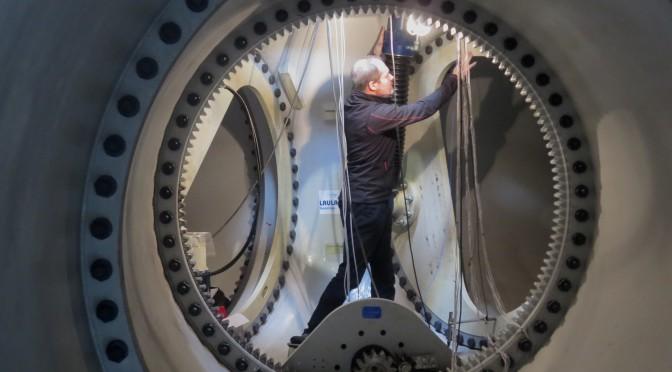Rodamientos capaces de autodiagnosticarse para aerogeneradores de la eólica marina