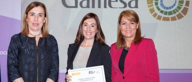 Gamesa aumenta la presencia de mujeres en puestos directivos