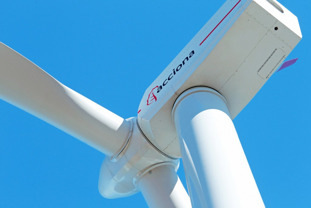 AEROGENERADOR DE 3 MW DE ACCIONA WINDPOWER
