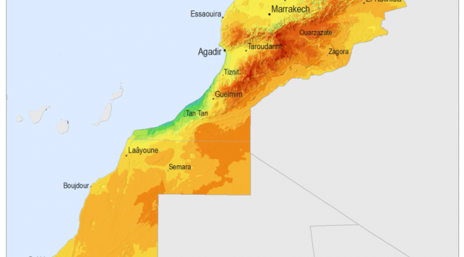 EDF y Masdar construirán una central híbrida de termosolar y fotovoltaica 800 MW en Marruecos