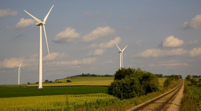 Aerogeneradores de Acciona para la eólica en Texas