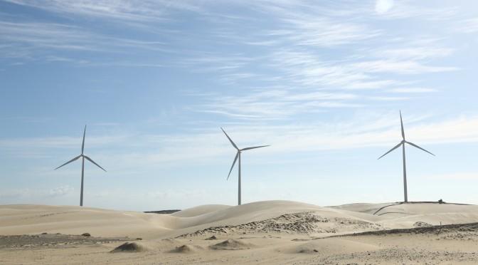 Energía eólica en Egipto: el parque eólico en West Bakr avanza