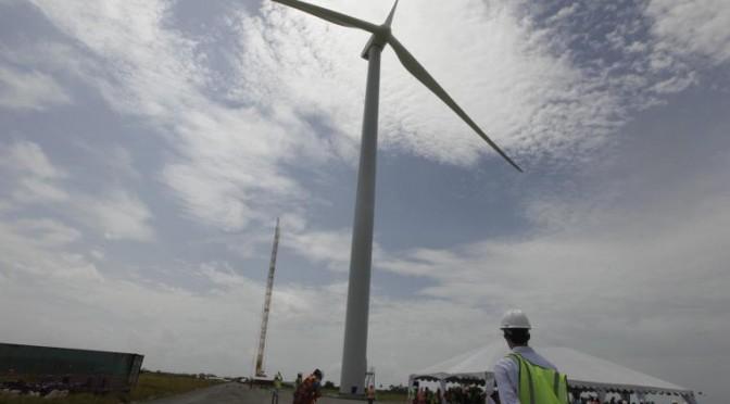 Eólica en Panamá: Coca-Cola consume un 100% de energías renovables