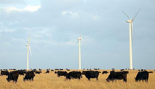 La energía eólica está en aumento en las Grandes Llanuras