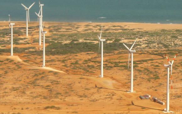 Colombia busca generar desarrollo en La Guajira con proyectos de energía eólica