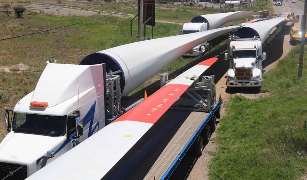 Comienza instalación del parque eólico
