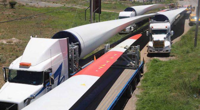 Eólica en México: Comienza instalación del parque eólico en Zacatecas