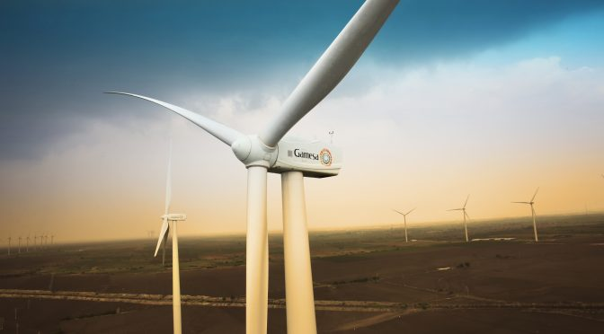 La eólica Gamesa instaló 1.490 MW en el primer trimestre