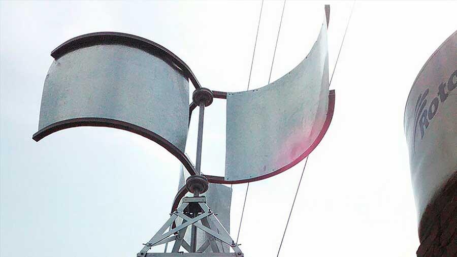 Servilectric, el generador eléctrico eólico para uso doméstico creado por estudiante