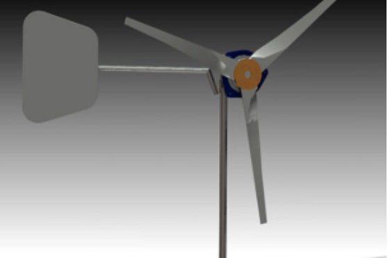 Desarrollan aerogenerador eólico para zonas rurales