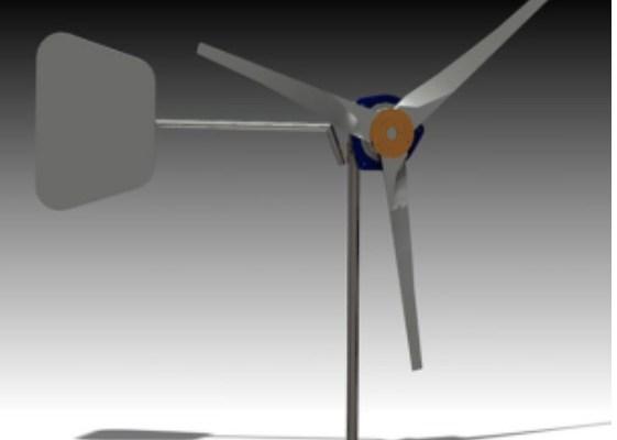 aerogenerador eólico para zonas rurales