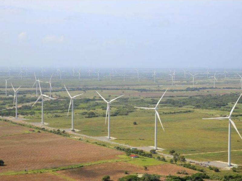 eólica abastece el 13% del mercado local de Panamá