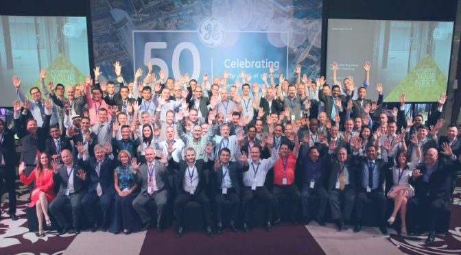 GE Critical Power cumple su 50 aniversario