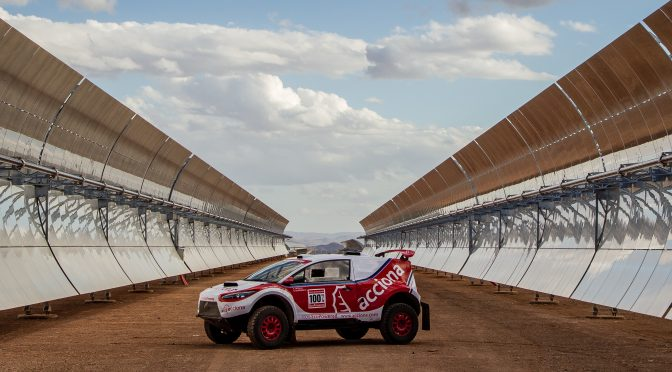 Acciona EcoPowered en la 17ª edición del Rally de Marruecos
