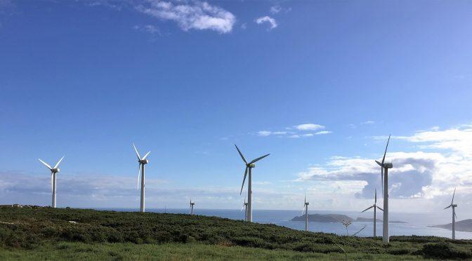 Eólica en Galicia: repotenciación del parque eólico de Malpica