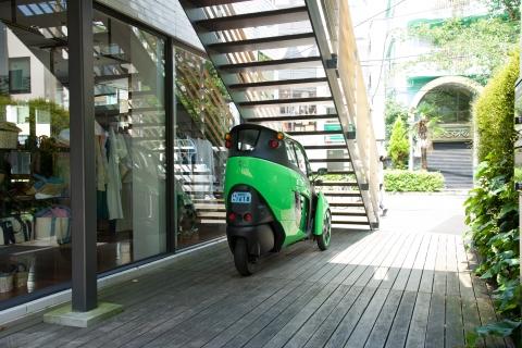 Toyota i-ROAD, un vehículo eléctrico ultracompacto