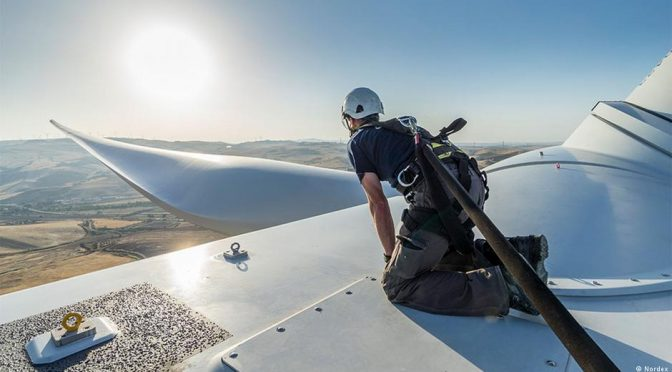 La industria eólica emplea a más de un millón de personas