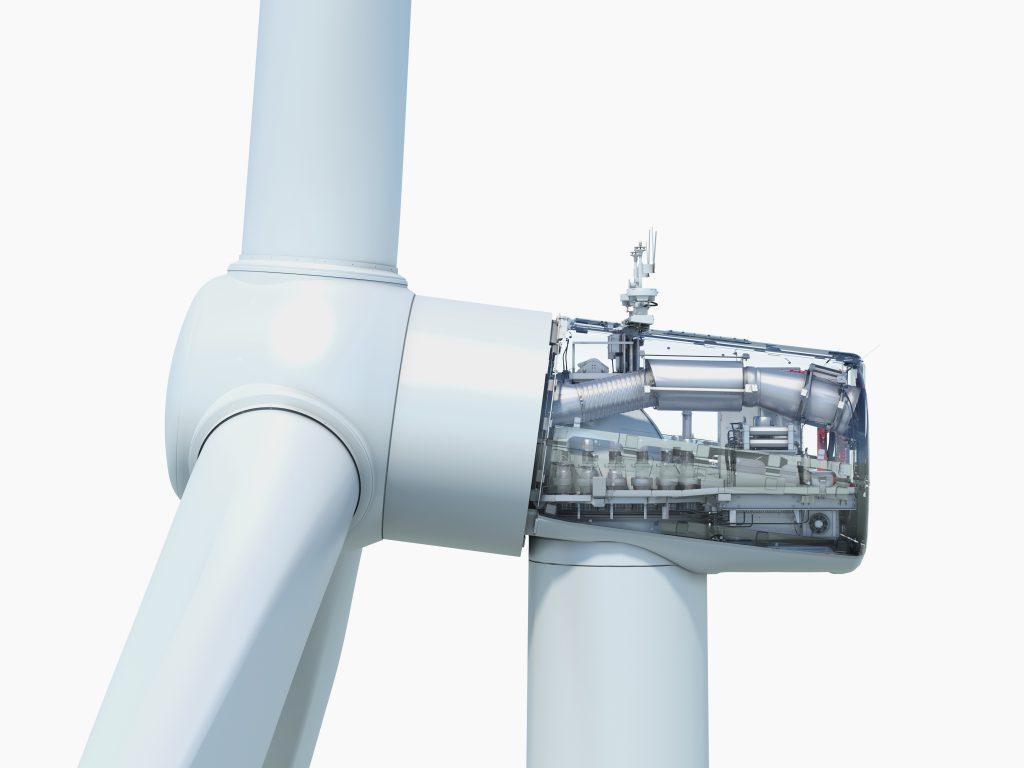 Alle drei neuen Siemens Onshore Windenergieanlagen nutzen ein Maschinenhaus. All three new Siemens Onshore turbines share the same nacelle design.