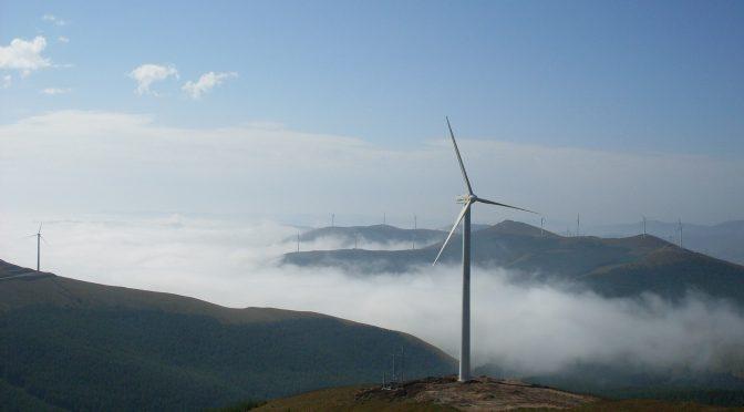 China aumenta su potencia eólica conectada un 28%