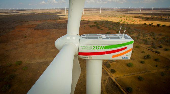 Eólica en Brasil: Gamesa alcanza los 1.000 aerogeneradores
