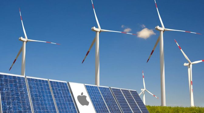 Iberdrola construirá central eólica para Apple