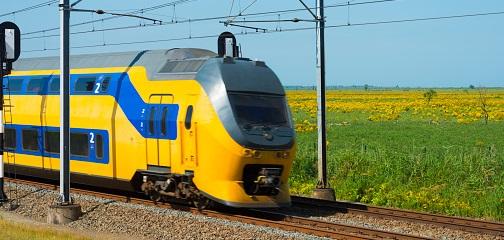 Los trenes de Holanda funcionan con energía eólica