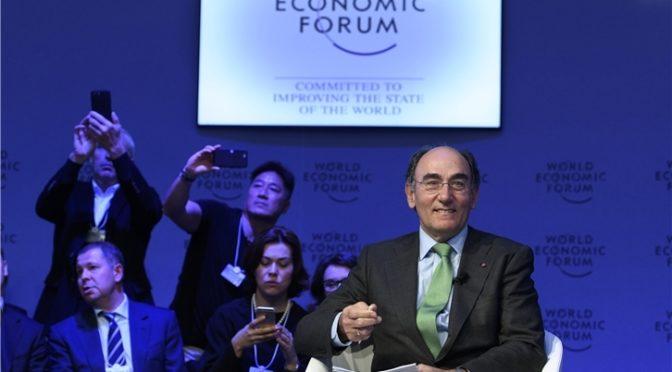 Galán defiende en Davos la descarbonización de la energía