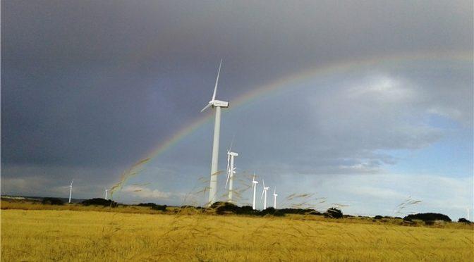 El parque eólico de Iberdrola La Plana III cumple 20 años