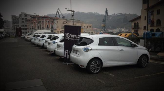 Movelco entrega la mayor flota de Vehículos Eléctricos a una Administración