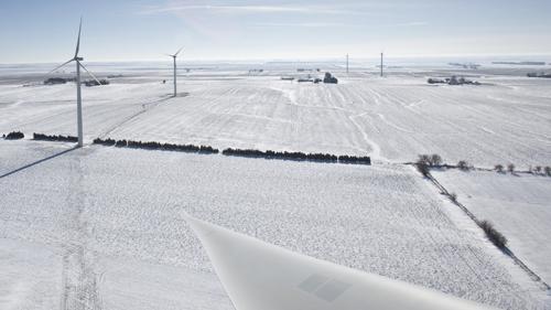 Eólica en EE UU: parque eólico de Enel en Kansas