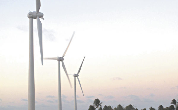 Brasil, líder de energía eólica en Latinoamérica