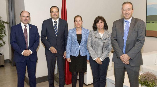 La Presidenta de Navarra recibe al nuevo CEO de Siemens Gamesa