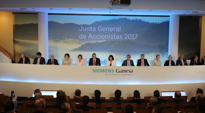 Siemens Gamesa celebra su primera Junta de Accionistas