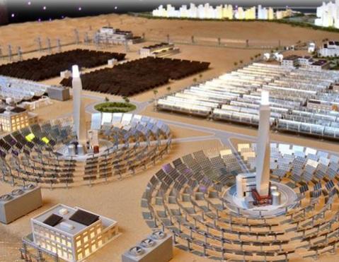 Dubái marca el precio más bajo de la termosolar: 9,45 centavos de dólar por kWh