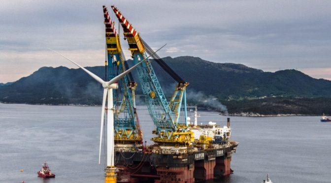 La innovación de Siemens Gamesa en el mayor parque eólico flotante del mundo abre nuevas posibilidades para la eólica marina