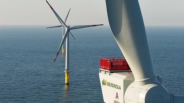 Iberdrola logra permiso para instalar parque eólico marino en Reino Unido