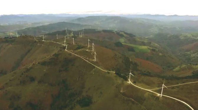 Dos empresas solicitan la instalación de nueve parques eólicos en Asturias