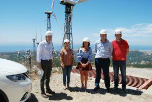 Autorizan a renovar el parque eólico El Cabrito en Tarifa