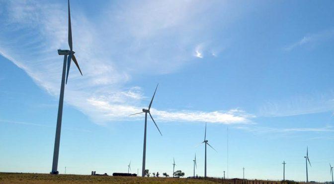 Eólica en Argentina: montaje del Parque Eólico de Villalonga