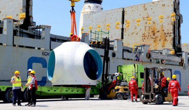Eólica en México: llegada equipos eólicos