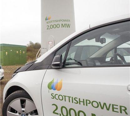 Iberdrola alcanza los 2.000 megavatios de eólica en Reino Unido