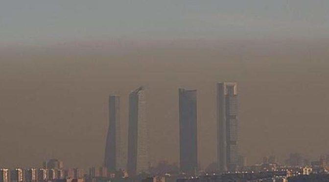 Madrid activa el protocolo por alta contaminación