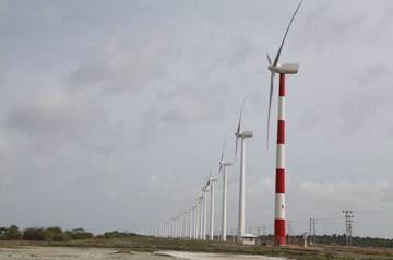 Energía eólica en Sri Lanka, se completa la construcción del mayor parque eólico