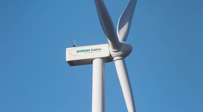 Siemens Gamesa sigue creciendo en la eólica de China