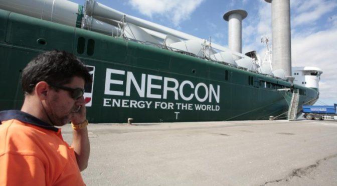 Enercon ha instalado 29.075 aerogeneradores con una capacidad eólica de 50.027MW