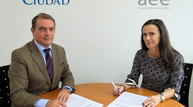 Fundación Ciudad y AEE firman un convenio marco de colaboración