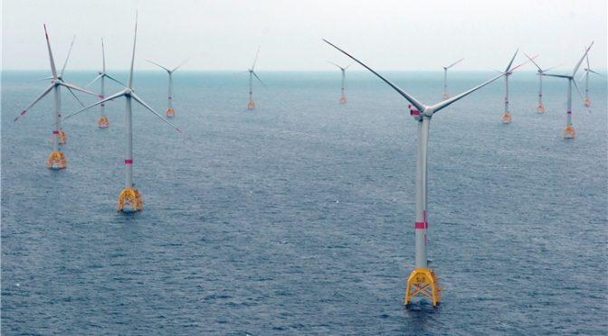 Iberdrola inaugura el parque eólico marino de Wikinger en Alemania