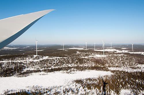 Nordex construye el primer parque eólico con aerogeneradores N149 para la eólica en Finlandia